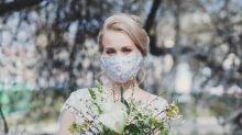 'It's not fair': Bride's coronavirus mask dilemma divides opinion