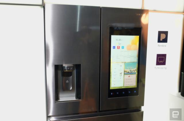 Order around this Samsung refrigerator with your voice