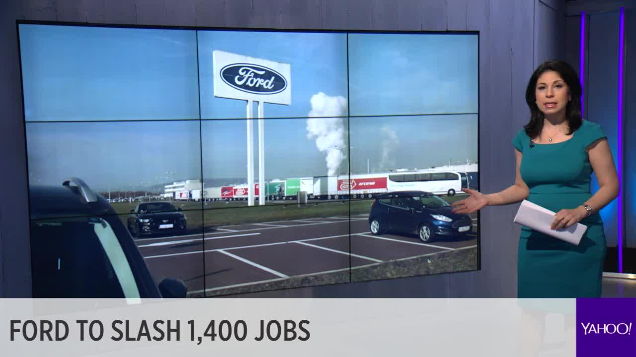 Ford To Cut 1400 White Collar Jobs Shares Tumble