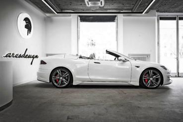 Ares把Tesla Model S變成敞篷帥哥