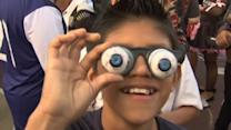 Googly for Guinness - new record for most googly eye glasses