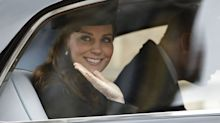 Kate Middleton Was Filmed Driving and Waving to Fans During Very Rare Public Sighting