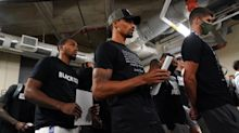 Strike back: NBA players fight power with power