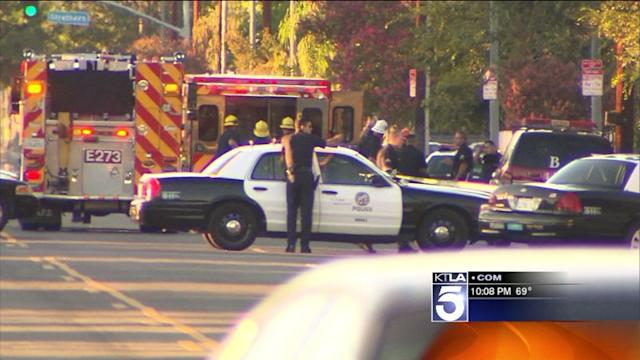 Suspected Gunman in LAPD Shootout, Pot-Shop Robbery Captured
