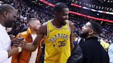 Kevin Durant gets Finals revenge on Drake in 'Laugh Now, Cry Later' video