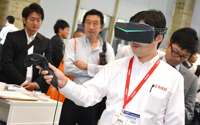 Chinese startup's '8K' VR headset is surprisingly advanced