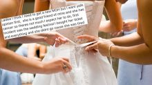 'Monster' bridezilla slammed for wanting to replace bridesmaid battling cancer