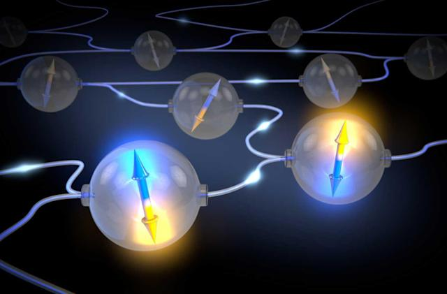 Quantum entanglement on demand could lead to a super-secure internet