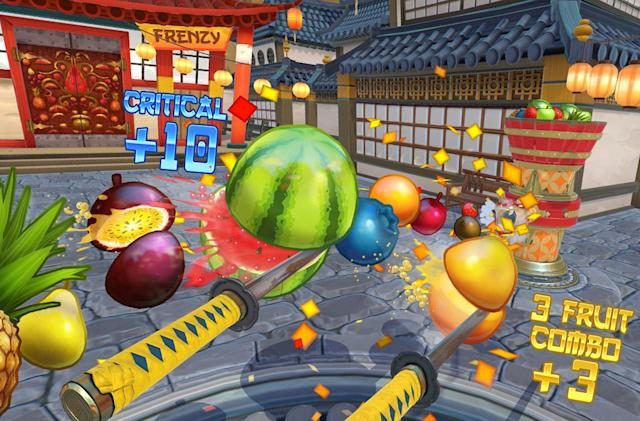 'Fruit Ninja VR' is now available for the HTC Vive