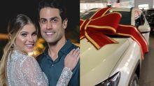 """Bárbara Evans ganha carro de R$ 150 mil do marido: """"Passando mal"""""""