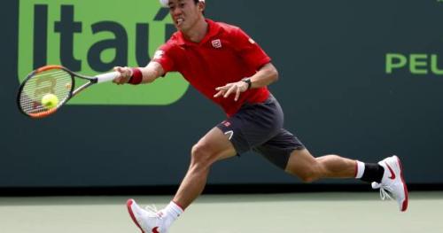 Tennis - ATP - Miami - Kei Nishikori qualifié dans la douleur pour les quarts de finale à Miami