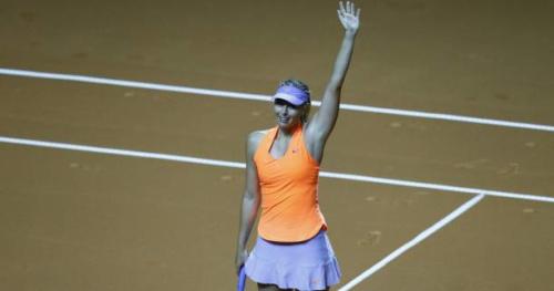 Tennis - WTA - Stuttgart - Stuttgart : Maria Sharapova file en demi-finale