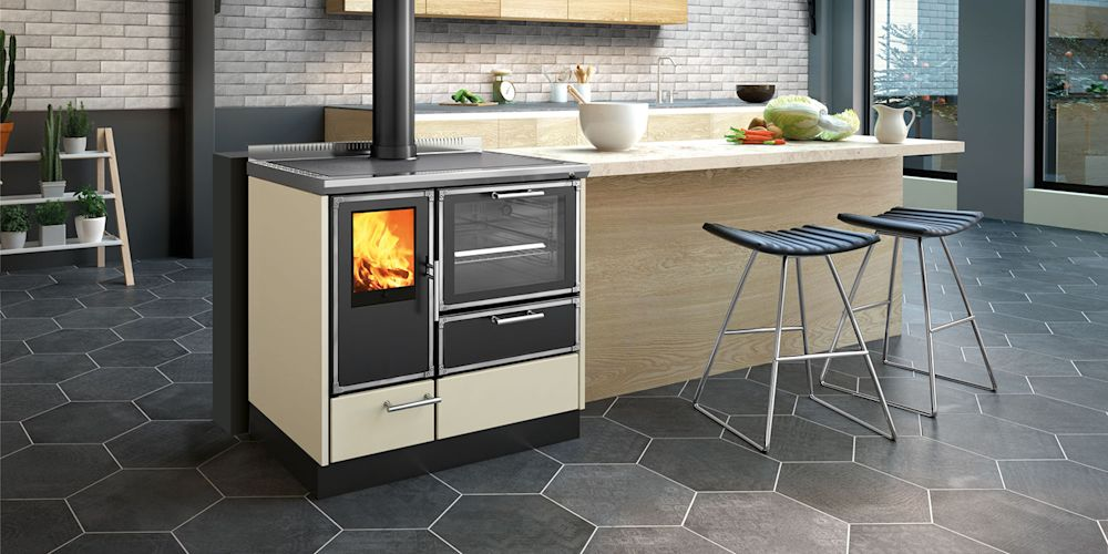 Here's a modern take on the wood-burning stove. Are you stoked?
