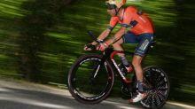 Cyclisme - Circuit de Getxo - L'Italien Damiano Caruso (Bahrain-McLaren) remporte en solo le circuit de Getxo