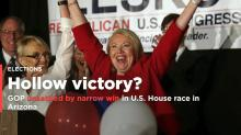 GOP unsettled by narrow win in Arizona U.S. House race