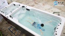 游水唔使同人迫 !直擊試玩 浴缸泳池 無限原地游 端午節免費試水