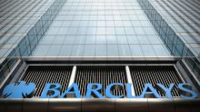 Barclays bank says one-off charges hit Q1 bottom line