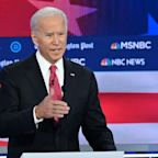 Biden, in Democratic debate, says you have to 'keep punching' to address domestic violence