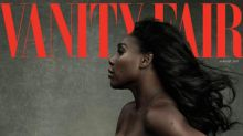 Pregnant Serena Williams poses naked on cover of Vanity Fair