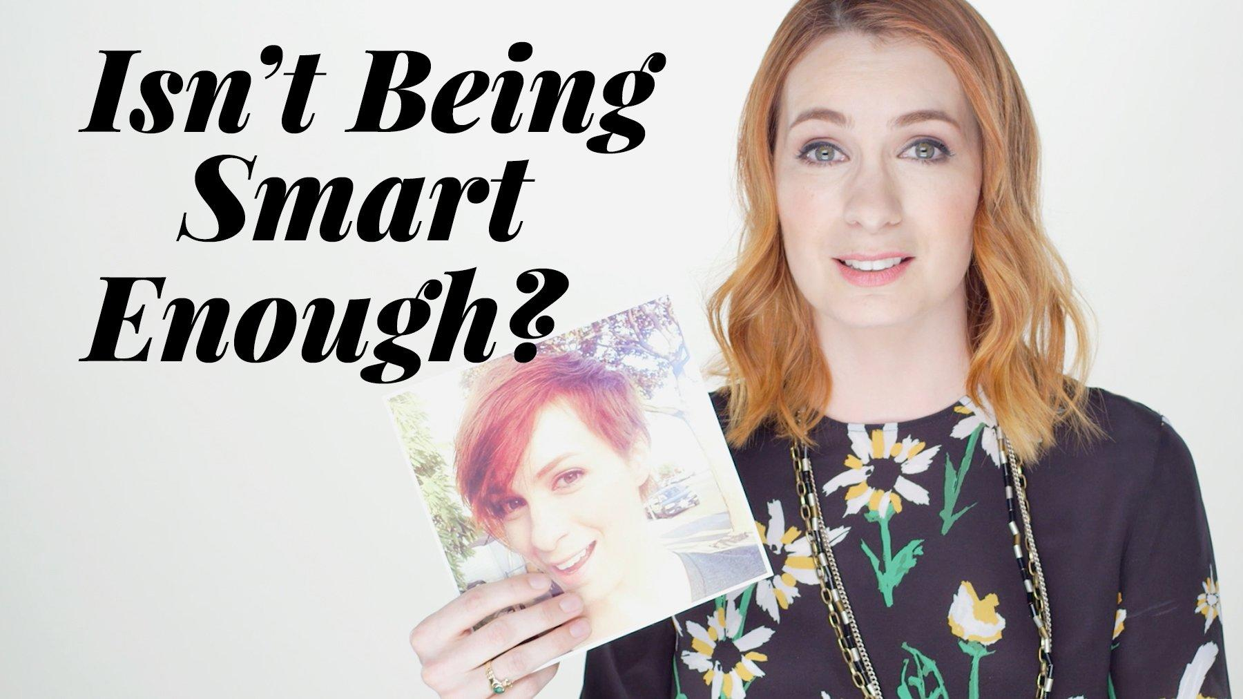 Isnt Being Smart Enough Felicia Day Discusses The Pressure On