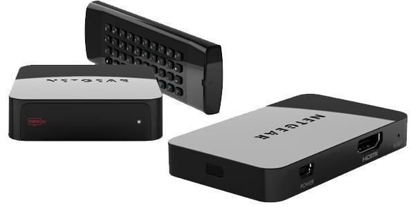 Netgear announces Push2TV WiDi adapter and three new NeoTV units