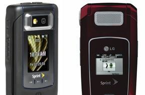 LG LX400, Motorola V950, and pair of Samsungs round out Sprint's QChat fare
