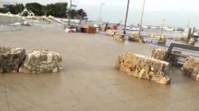 Tromba d'aria a Porto Cesareo: barche trascinate al largo
