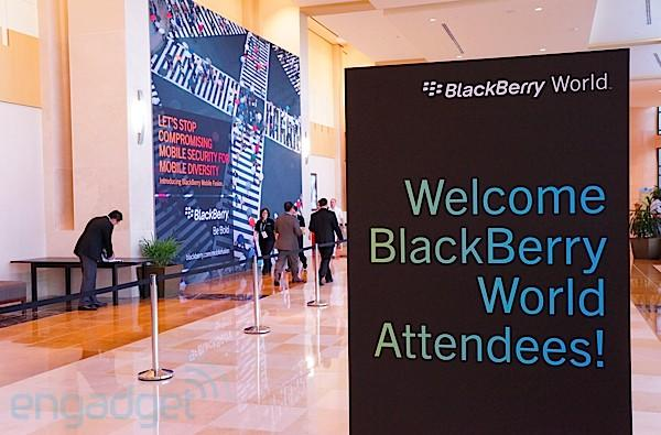 Live from the 2012 BlackBerry World keynote with Thorsten Heins!