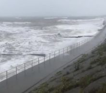 Huge Waves Hit Coast of Wales as Storm Francis Triggers Amber Warning