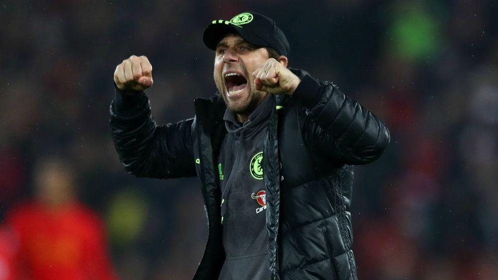 Conte wary of surprises despite Chelsea's 10-point lead