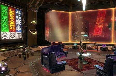 SWTOR releases Nar Shaddaa Sky Palace video