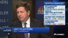 SEC chairman: Cryptocurrencies like bitcoin are not secur...