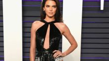 Everyone's talking about Kendall Jenner's leg-baring Oscars after-party dress: 'Baby where are your clothes?'