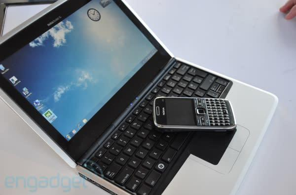 Nokia Booklet 3G hands-on (with video!)