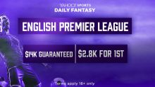 Play Yahoo Daily Fantasy soccer's $14K contest this Saturday
