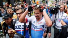 Cycling: Perfect timing for Sagan as Slovakian takes third straight title