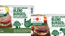 Applegate's new burger bet: Not meatless, but less meat