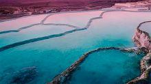 Turquía: La impresionante cascada blanca de Pamukkale