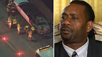 Report: Limo driver on phone before fatal fire