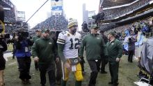 Remember the Seahawks-Packers NFC title game? They meet again on Yahoo Sports app