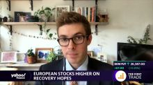 European stocks higher recovery hopes