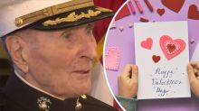 Why this 104-year-old veteran is asking strangers for Valentine's Day cards