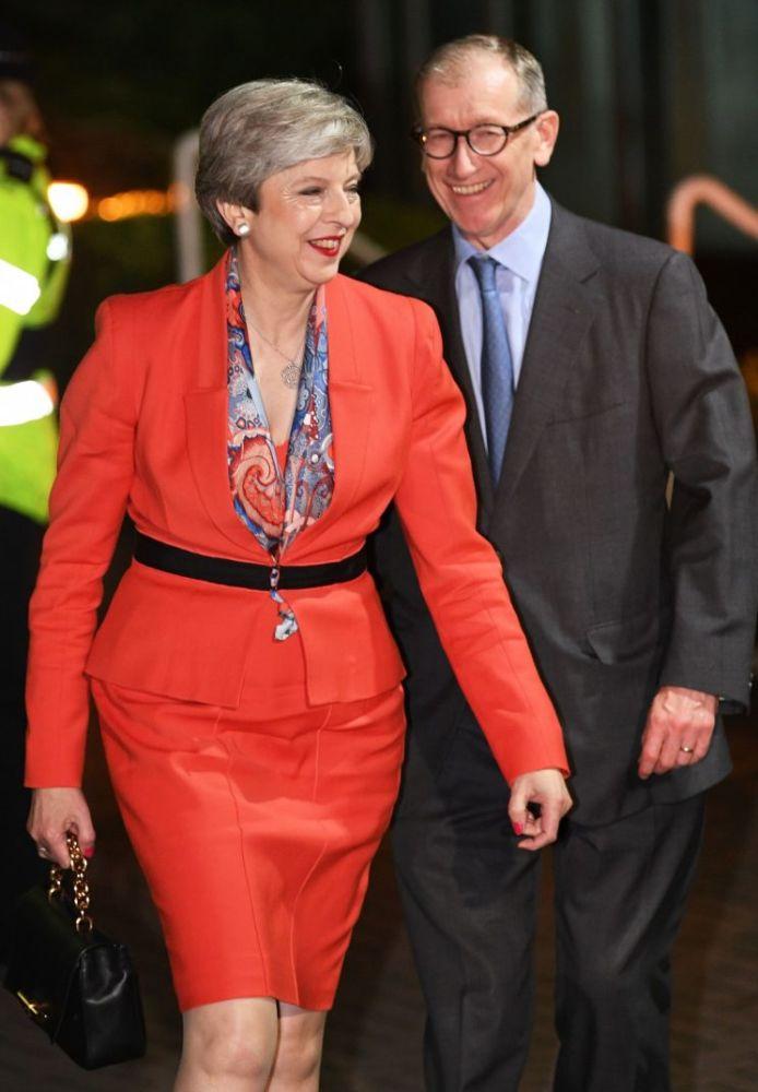 Theresa May was make-up shamed last night [Photo: PA]
