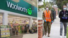 Coronavirus: Woolworths shoppers on alert as worker positive in Melbourne