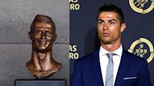 Cristiano Ronaldo's new statue turns heads – for all of the wrong reasons