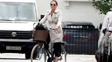 Pippa Middleton Just Wore the Ultimate London Look on a Bike Ride