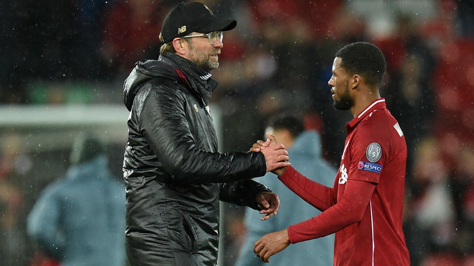 Wijnaldum: Klopp gave 2018 Champions League final team-talk in Ronaldo underwear