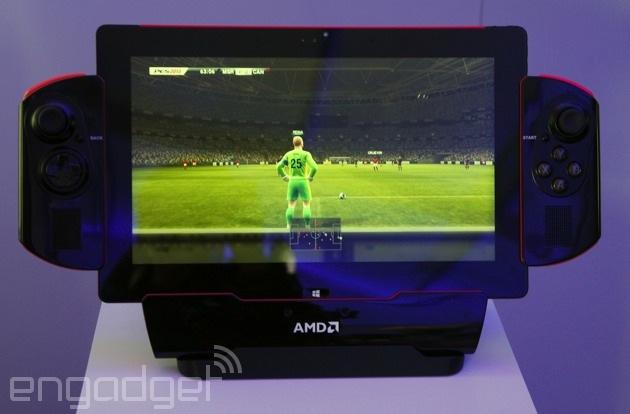 AMD's Project Discovery tablet is for work and play... but mostly play