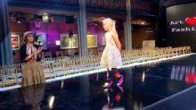 Una niña de 9 años con las piernas amputadas desfila en la Semana de la Moda de Nueva York