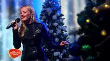 Samantha Jade performs 'Silver Bells' live